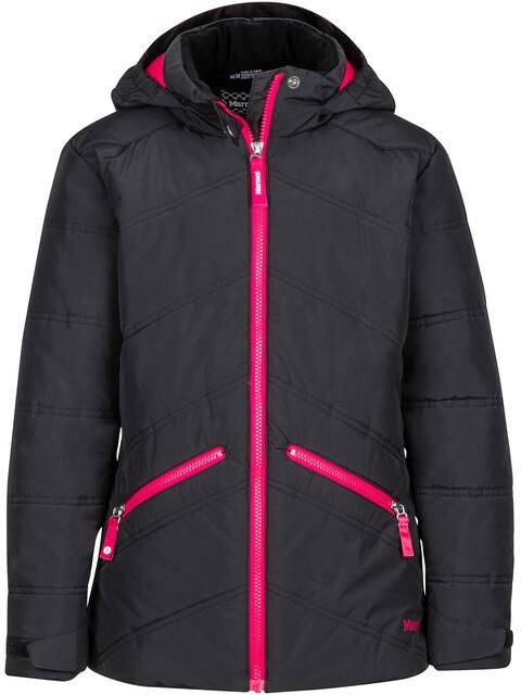 Marmot Val D'Sere Jacket Girls Black/Bright Ruby